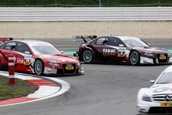 Oliver Jarvis, Audi Sport Team Abt Audi A4 DTM, Mike Rockenfeller, Audi Sport Team Phoenix Audi A4 D