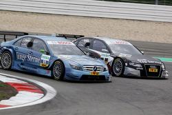 Jamie Green, Persson Motorsport AMG Mercedes C-Klasse, Timo Scheider, Audi Sport Team Abt Audi A4 DT