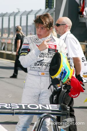Third place Roberto Merhi, Mücke Motorsport, Dallara F308 Mercedes