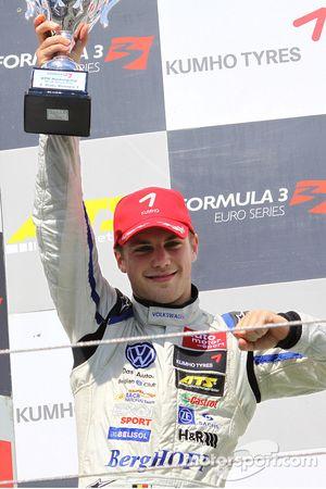 Podium: second place Laurens Vanthoor, Signature, Dallara F308 Volkswagen