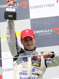 Podium: 2de Laurens Vanthoor, Signature, Dallara F308 Volkswagen