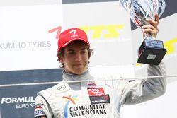 Podium: third place Roberto Merhi, Mücke Motorsport, Dallara F308 Mercedes