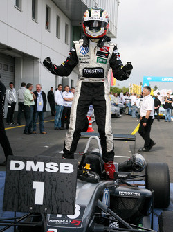Race winnaar Antonio Felix da Costa, Motopark Academy Dallara F308 Volkswagen