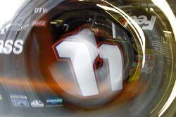 Detail van de auto, Denny Hamlin, Joe Gibbs Racing Toyota