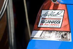 Detalle del Chevrolet de Jamie McMurray, Earnhardt Ganassi Racing