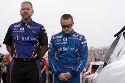 Ricky Stenhouse Jr. en crew chief, MIke Kelley