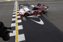 Race winnaar Brad Keselowski