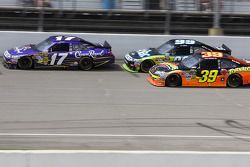 Matt Kenseth, Roush Fenway Racing Ford, Carl Edwards, Roush Fenway Racing Ford, Ryan Newman, Stewart-Haas Racing Chevrolet