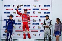 National class podium: Menasheh Idafar, James Cole en Juan Carlos Sistos