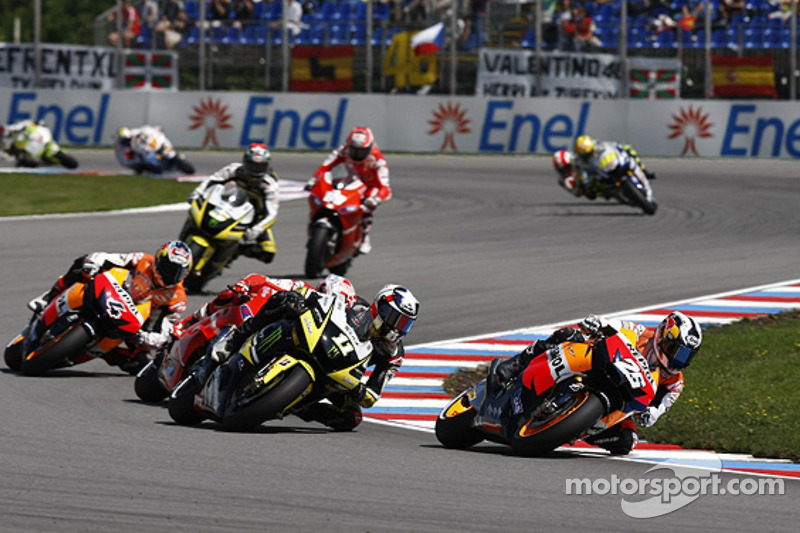 Dani Pedrosa, Repsol Honda Team, Ben Spies, Monster Yamaha Tech 3
