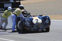 Dommages pour Larry Bowman, 1958 Lister Corvette