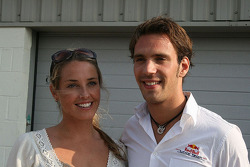 Jean-Eric Vergne and friend