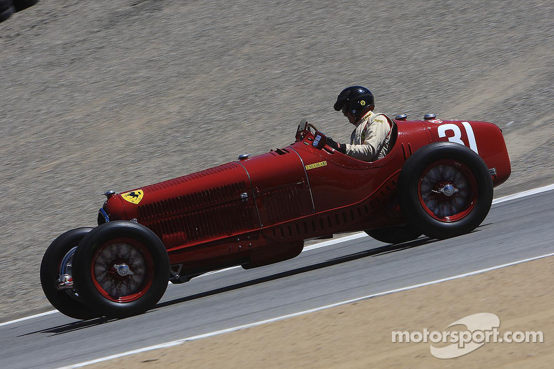 Peter Giddings, en Alfa Romeo Tipo B P3 de 1930