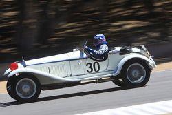 Scott McClenahan, en Alfa Romeo GC-1750 GS de 1930
