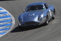 Groep 4B racewinnaar Herb Wetanson, 1961 Aston Martin Zagato DB-4