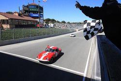 Le vainqueur du Groupe 5B, John Hugenholtz, 1964 Lotus 26R