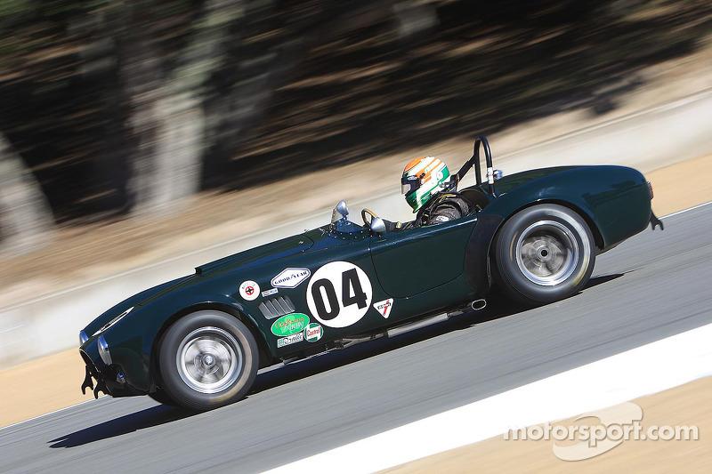 John W Mckenna 1963 Cobra 289 At Monterey Motorsports