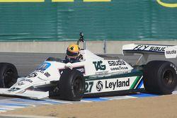 Le vainqueur de la course du Groupe 9B, Charles E. Nearburg sur Williams FW 07B 1981