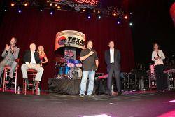 Tony Stewart, de Stewart-Haas Racing, participe à la conférence de presse de Texas Motor Speedway