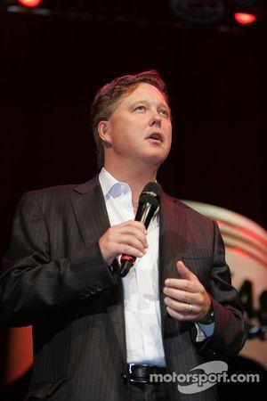 Brian France, PDG et président du conseil d'administration de la NASCAR