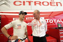 Daniel Sordo and Citroën Total World Rally Team director Olivier Quesnel