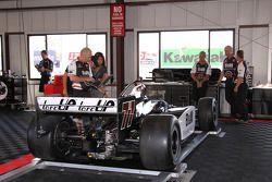 Car of Alex Tagliani, FAZZT Race Team