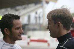 Timo Scheider, Audi Sport Team Abt Audi A4 DTM en Mattias Ekström, Audi Sport Team Abt Audi A4 DTM