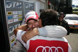 Poleposition for Timo Scheider, Audi Sport Team Abt Audi A4 DTM
