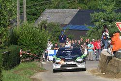 Ken Block and Alex Gelsomino, Ford Focus WRC 08, Monster World Rally Team