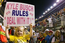 Soutien à Kyle Busch