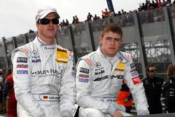 Ralf Schumacher, Team HWA AMG Mercedes C-Klasse en Paul di Resta, Team HWA AMG Mercedes C-Klasse