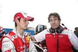 Oliver Jarvis, Audi Sport Team Abt Audi A4 DTM met ingenieur