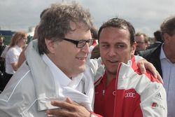 Norbert Haug, Sporting Director Mercedes-Benz en Christian Abt, Former DTM Driver