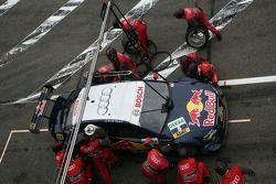 Arrêt pour Mattias Ekström, Audi Sport Team Abt Audi A4 DTM