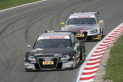 Timo Scheider, Audi Sport Team Abt Audi A4 DTM en Martin Tomczyk, Audi Sport Team Abt Audi A4 DTM