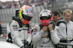 2de plaats Paul di Resta, Team HWA AMG Mercedes C-Klasse en Gary Paffett, Team HWA AMG Mercedes C-Kl