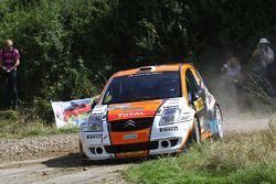 Hans Weijs Jr. et Hans van Goor, Citroen C2 S1600
