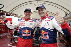 Second place Daniel Sordo and Diego Vallejo
