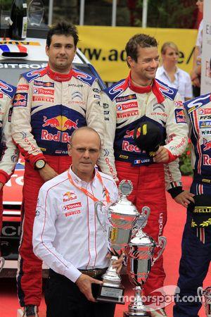 Podium : Olivier Quesnel, directeur de Citroën Total World Rally Team