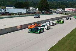 Start: #8 Drayson Racing Lola B09 60 Judd: Paul Drayson, Jonny Cocker