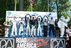 Gunnar Jeannette et Elton Julian vainqueurs en LMPC devant Ricardo Gonzalez et Luis Diaz, troisième place pour Scott Tucker et Andy Wallace
