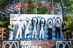 Gunnar Jeannette et Elton Julian vainqueurs en LMPC devant Ricardo Gonzalez et Luis Diaz, troisième