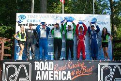 Timothy Pappas et Jeroen Bleekemolen vainqueurs en GTC devant Robert Rodriquez et Galen Bieker, troisième place pour Shane Lewis et Vic Rice