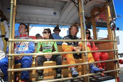Alex Lloyd, Dale Coyne Racing, Danica Patrick, Andretti Autosport, Francesco Dracone, Conquest Racing