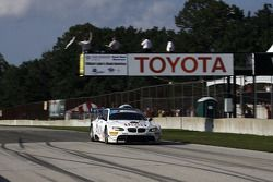 #90 BMW Rahal Letterman Racing Team BMW M3 GT: Dirk Müller, Joey Hand
