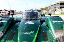 Race winner #8 Drayson Racing Lola B09 60 Judd: Paul Drayson, Jonny Cocker