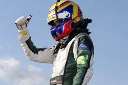 Race winner Jonny Cocker