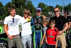 David Brabham and sons, friends