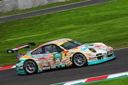 #9 Hatsune Miku X gsr Porsche : Taku Banba, Masahiro Sasaki,Mitsuhiro Kinoshita