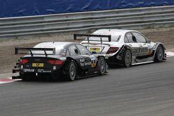 Ralf Schumacher, Team HWA AMG Mercedes C-Klasse, Timo Scheider, Audi Sport Team Abt Audi A4 DTM